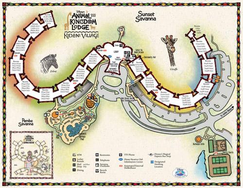 Disney Vacation Club Resort Maps