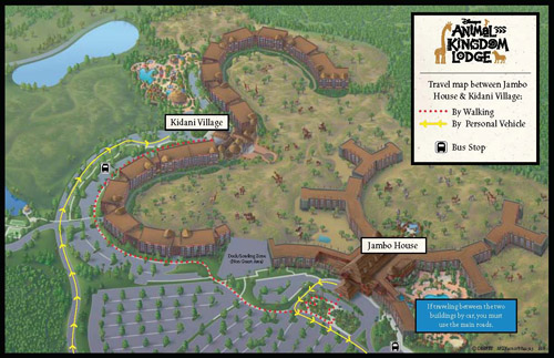 Disneyu0027s Animal Kingdom Villas At Kidani Village Map   Page 2
