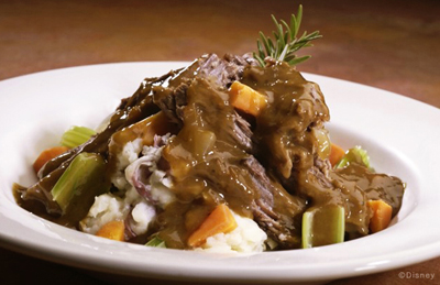 Pot Roast - 50's Prime Time Cafe