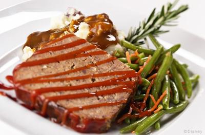 Dad's Meat Loaf - 50's Prime Time Cafe