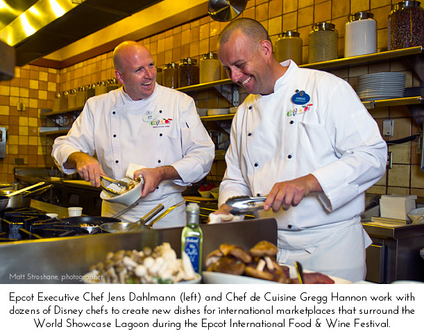 17th Annual Epcot International Food & Wine Festival Chefs
