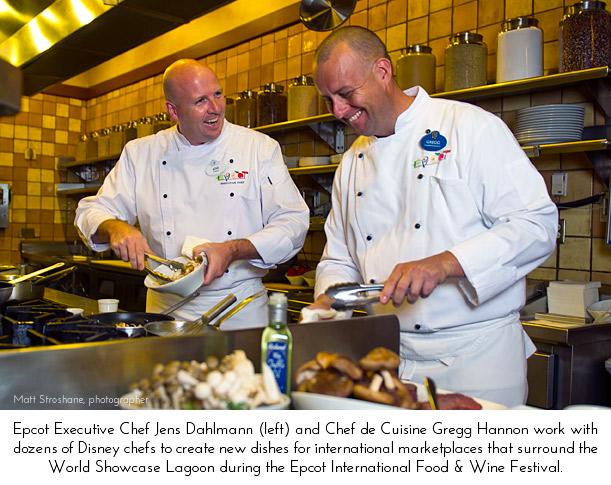 17th Annual Epcot International Food & Wine Festival Chefs