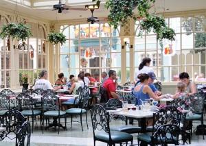 Tony's Town Square Restaurant in the Magic Kingdom