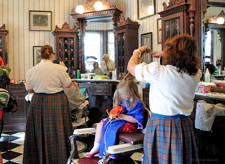 Harmony Barber Shop at the Magic Kingdom