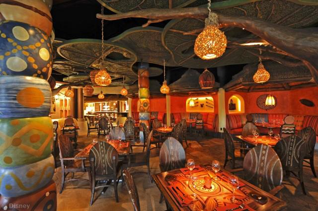 Dining Spotlight Sanaa At Disney S Animal Kingdom Villas