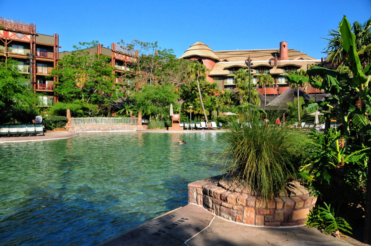 Best Pool View Rooms At Animal Kingdom Lodge