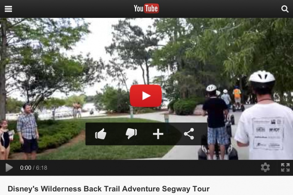 Video Clip of Wilderness Back Trail Adventure Segway Tour