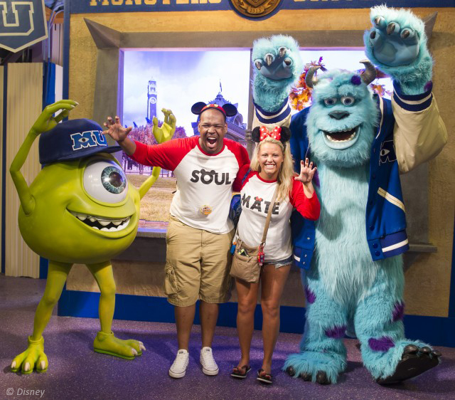 Meet Mike and Sulley at Disney's Hollywood Studios