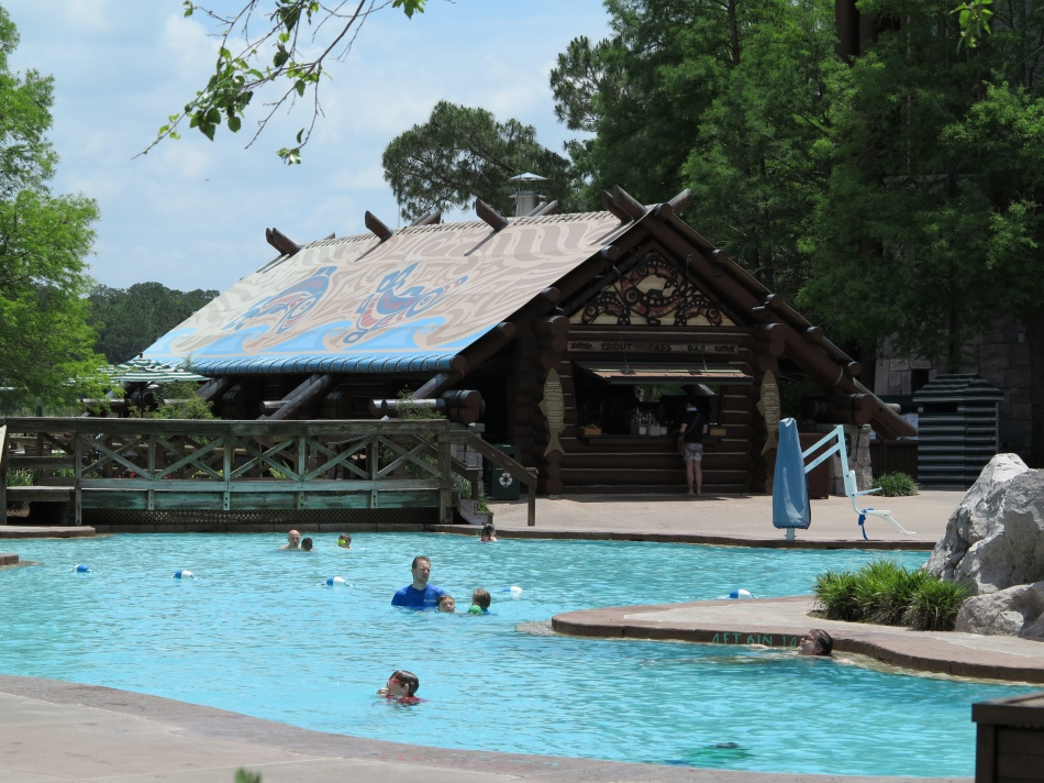 Pools at Disney's Wilderness Lodge and Villas