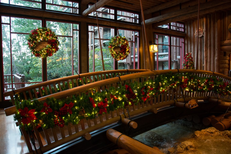 Christmastime at Disney's Wilderness Lodge