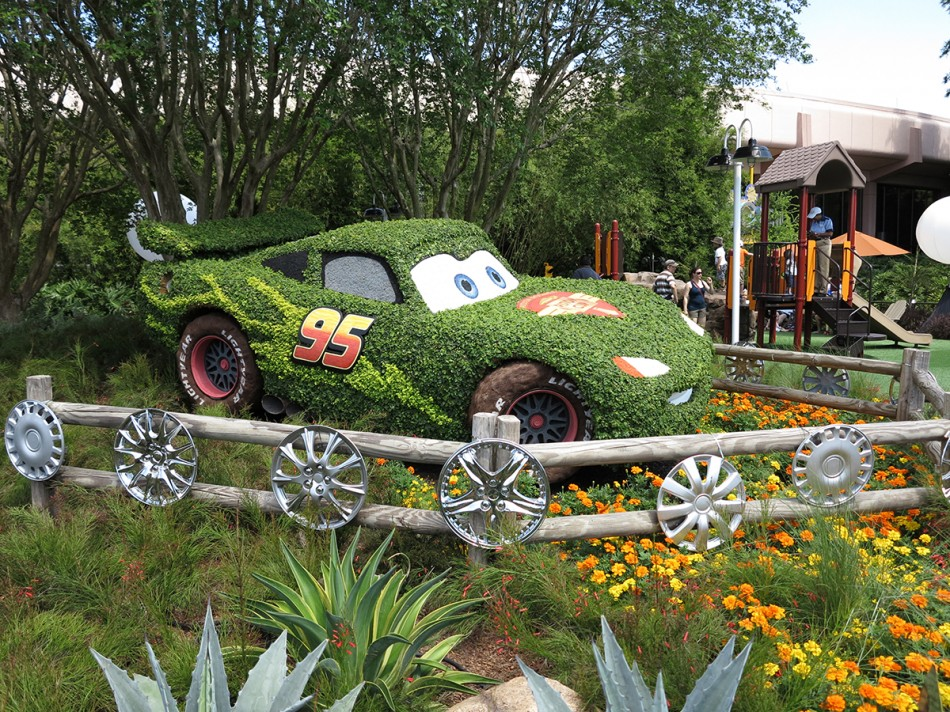 Radiator Springs   Epcot International Flower And Garden Festival