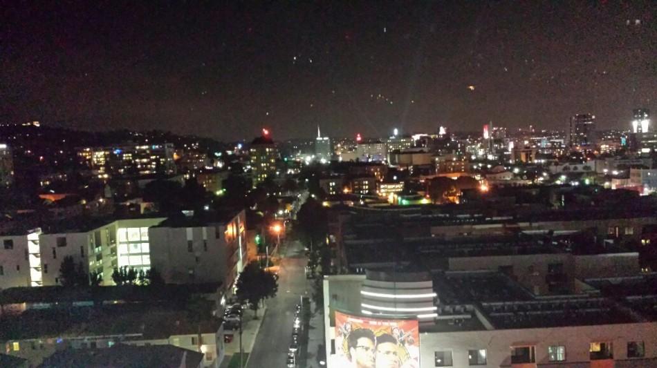 D1 Hollywood night lights