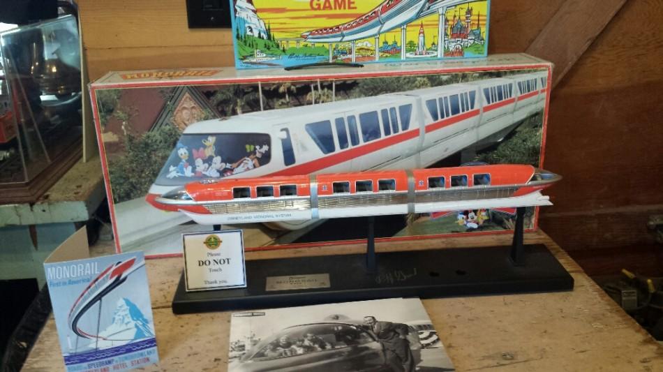 D3 model monorail