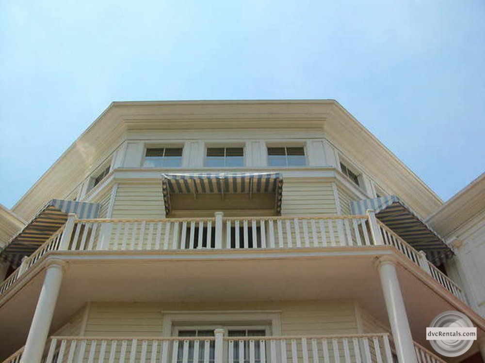 Boardwalk Inn room with wrap-around balcony - only 3 of these rooms exist