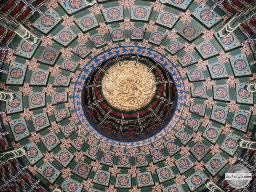 China ceiling in Epcot
