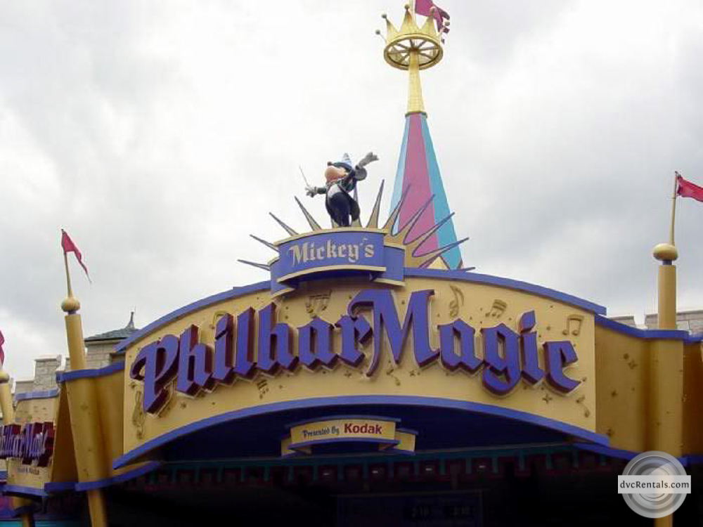 Philharmagic in Magic Kingdom