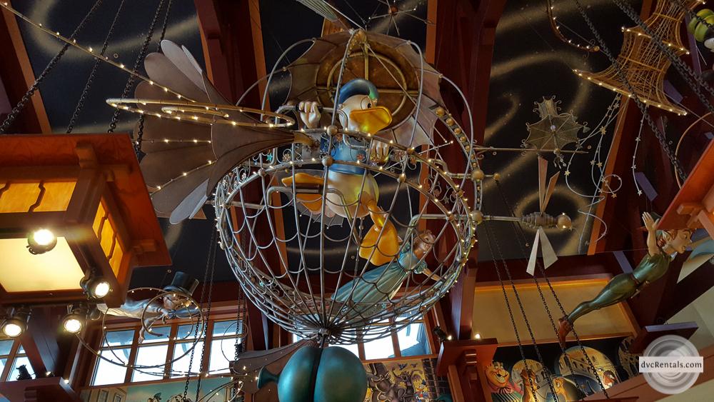 World of Disney ceiling