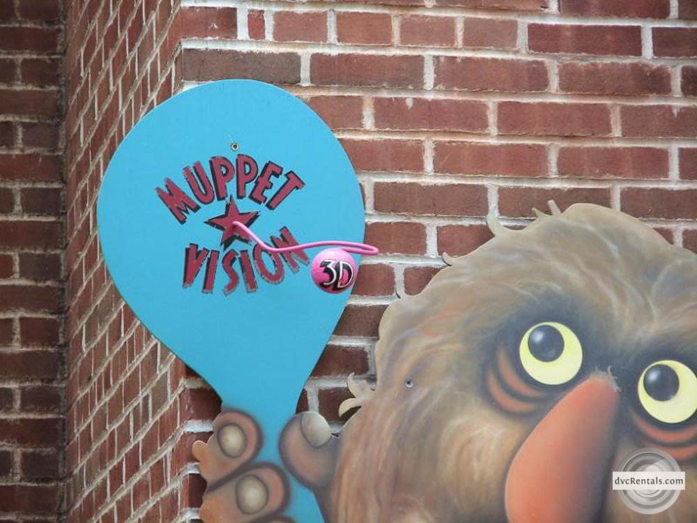 Muppet Vision entrance