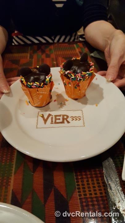 Boma Birthday Dessert