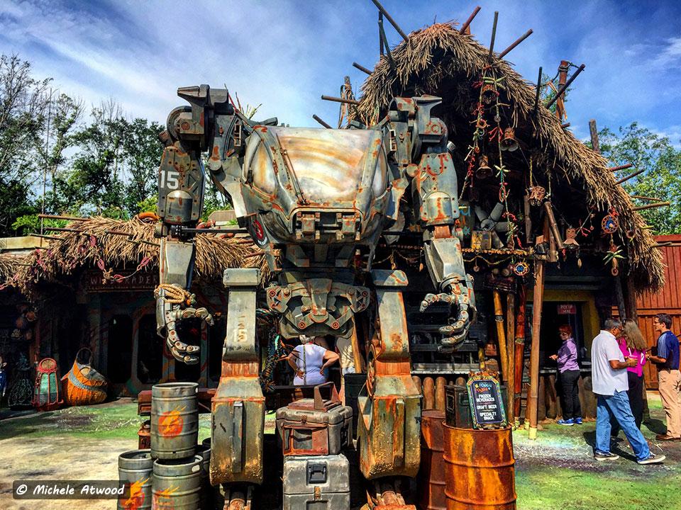 Pandora Avatar Robot Prompts