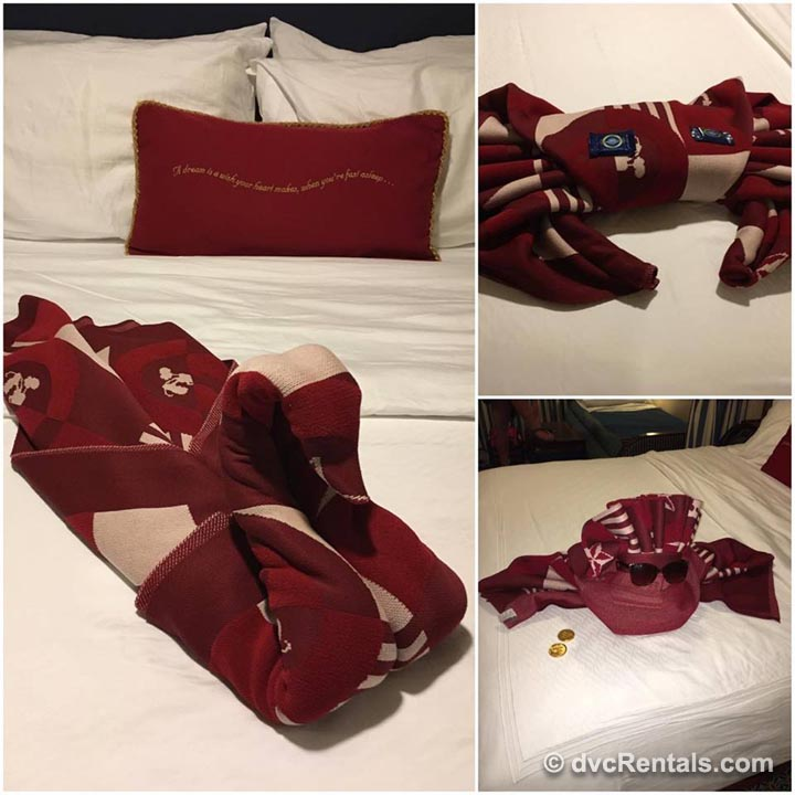 Red White Bed Pillows