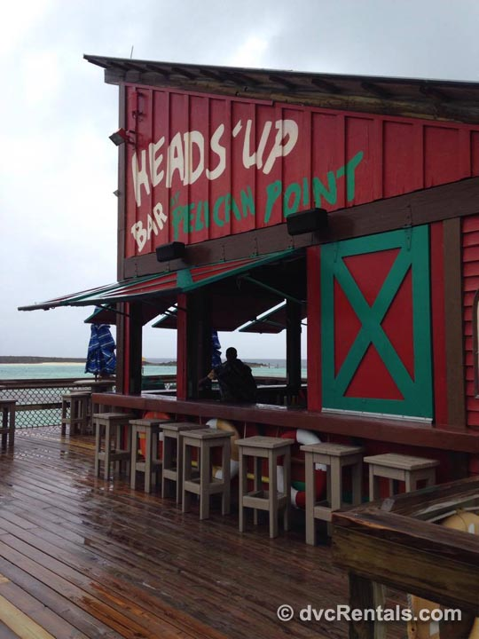 Heads' Up Bar Pelican Point