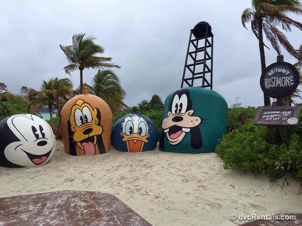 Disney Mount Rustmore Beach