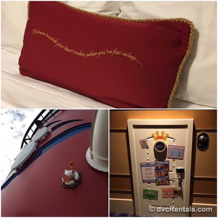 Pillow and Cruise Ship