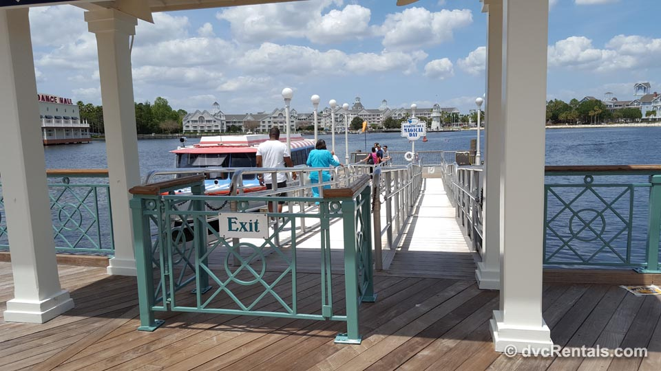 Boat Dock to DHS and Epcot