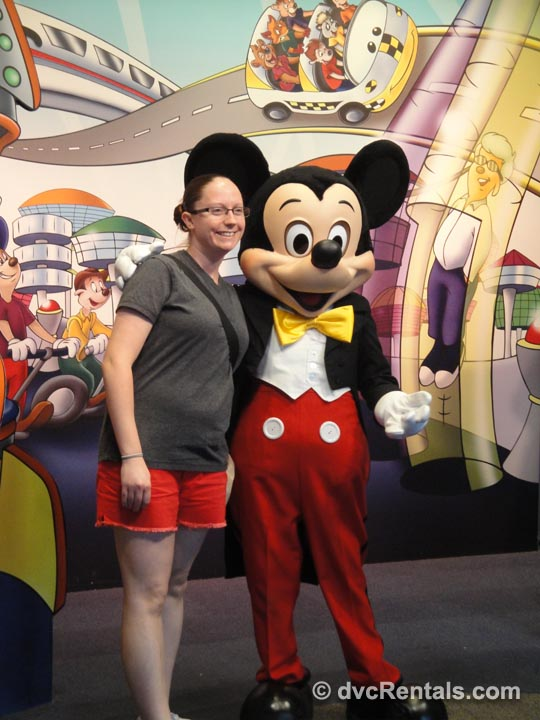 Mickey with DVC Request