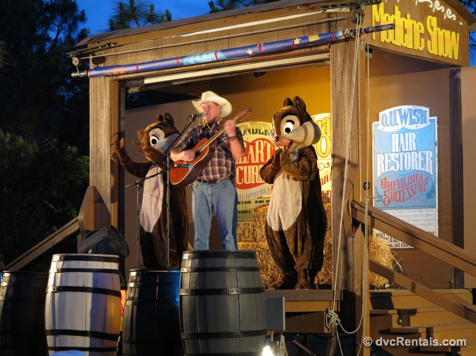 Fort Wilderness Chip 'N Dale's Campfire Sing-A-Long