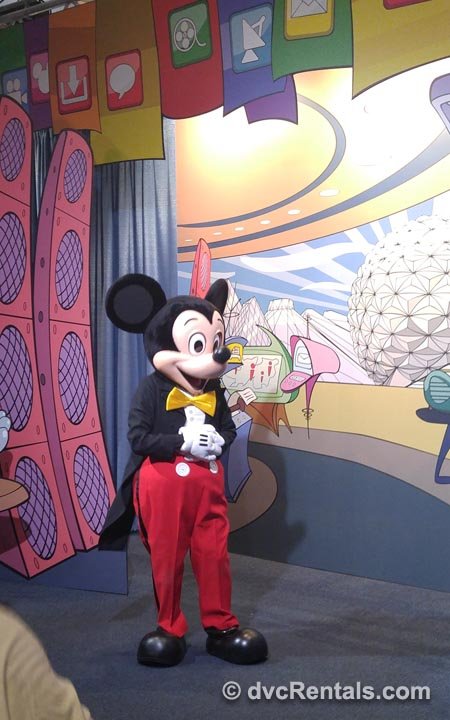 Mickey Mouse at Character Spot