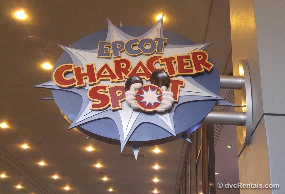 Epcot Character Spot