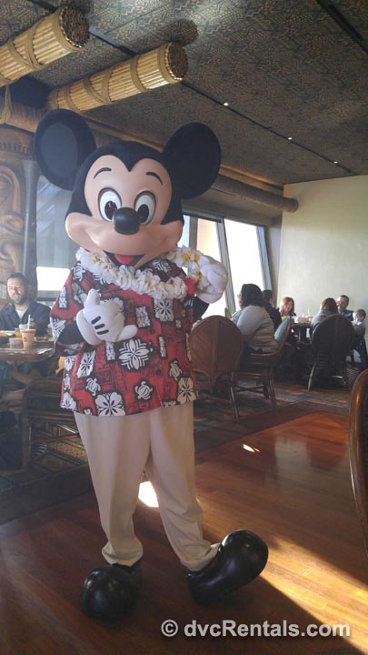 Mickey Mouse Server Thumbs Up