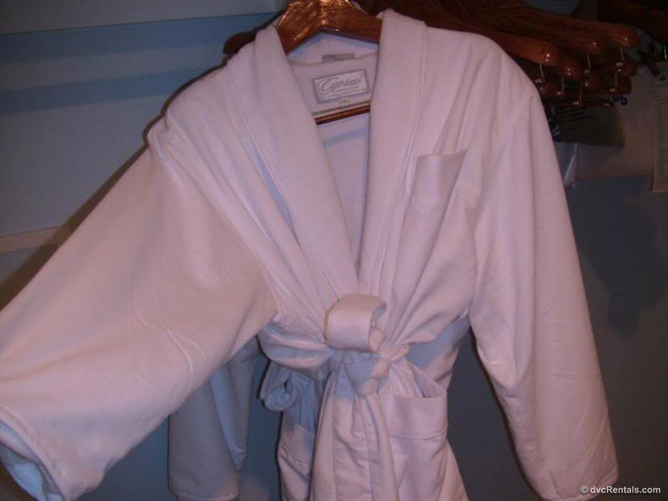 Plush Robe in Closet