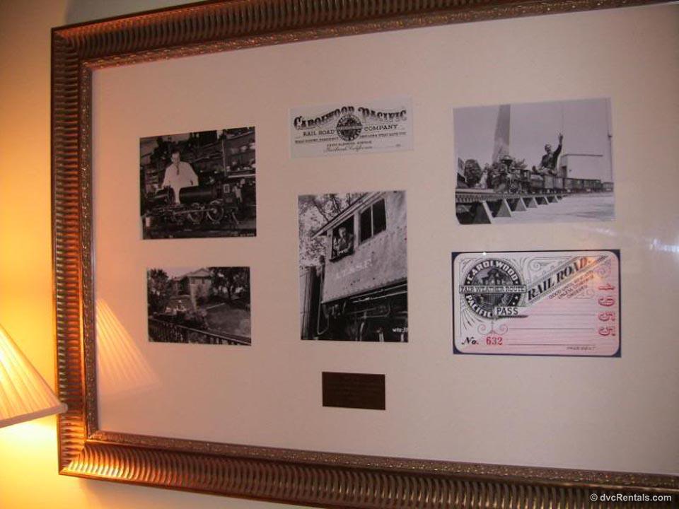 Carolwood Pacific Framed Photos