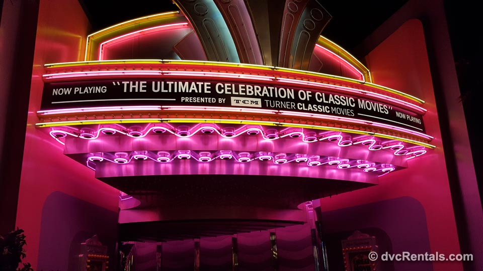 Great Movie Ride Marquis