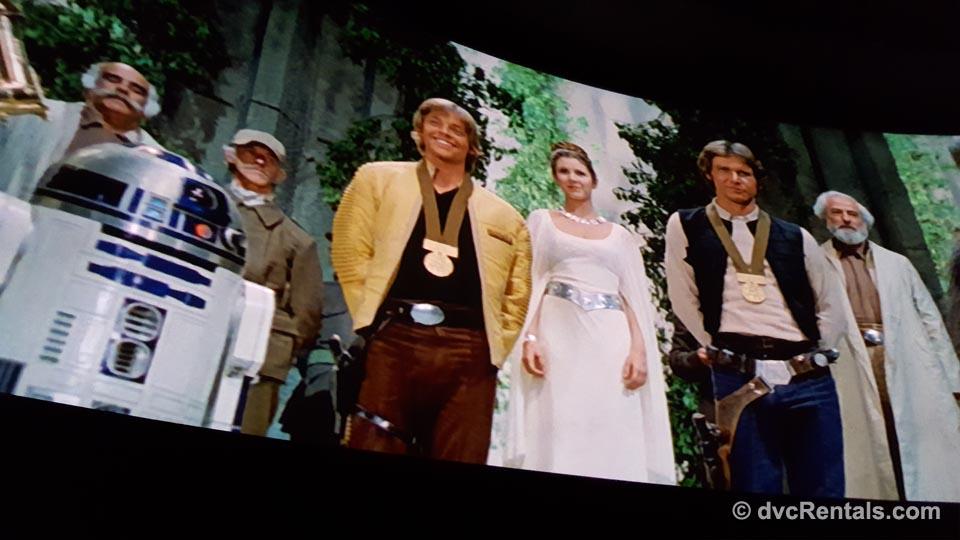 Great Movie Ride Montage Scene
