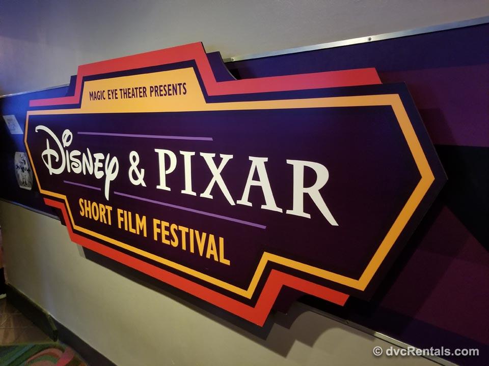 Magic Eye Theater Disney & Pixar Short Film