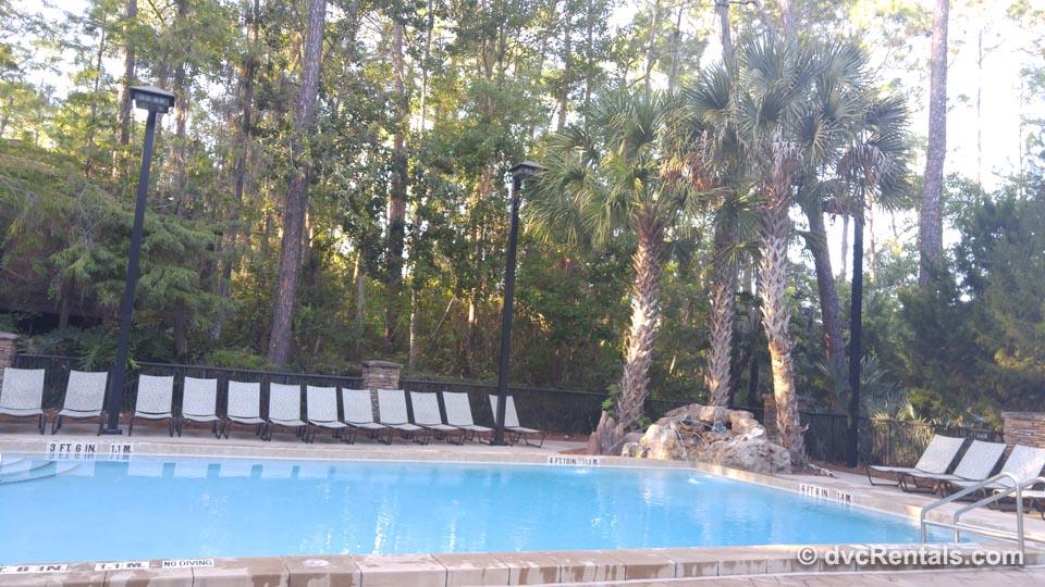 Leisure pools at Disney resorts