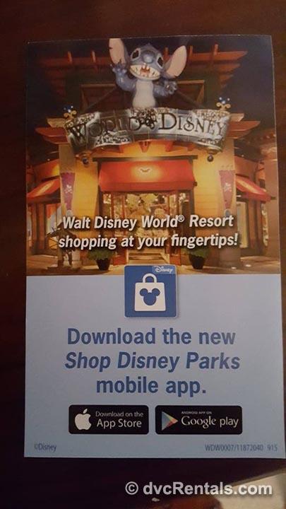 Shop Disney Parks App Info 2