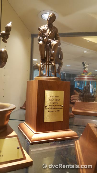 Walt Disney Trophy for Mickey Mouse