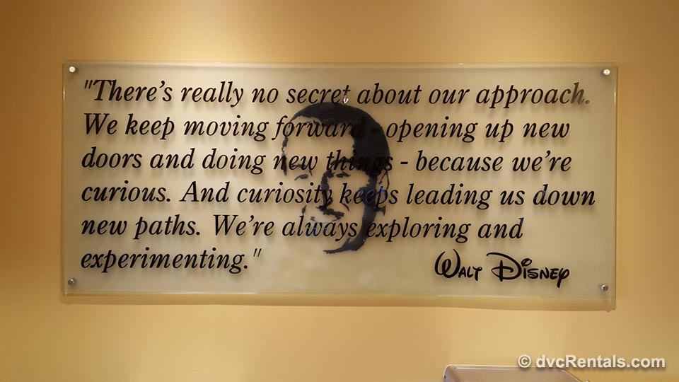 Walt Disney Quote at University