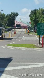 Back of Magic Kingdom and Storybook Circus
