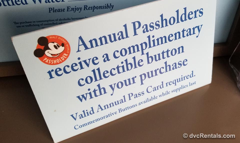 Annual Passholder Sign