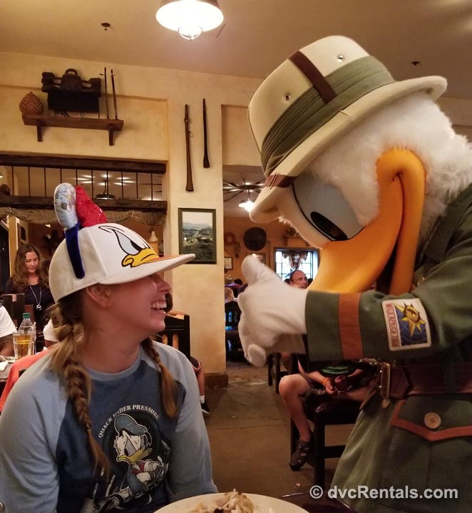 Character Meet and Greets Donald Duck