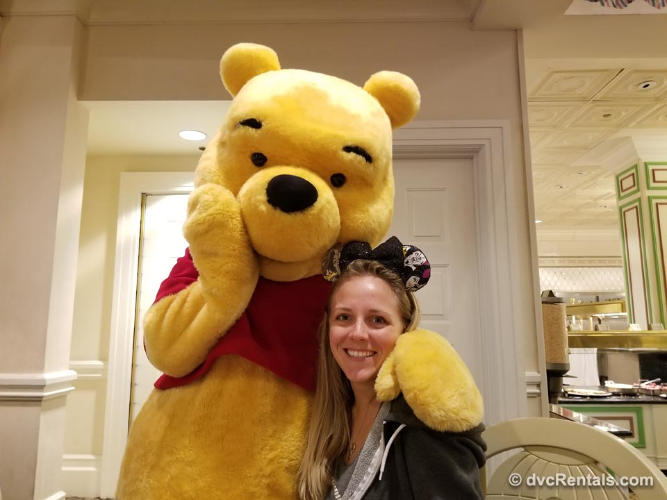 DVC Staff with Winnie the Pooh