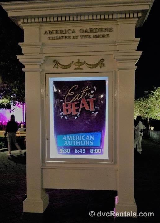 Eat to the Beat At Disney America Gardens