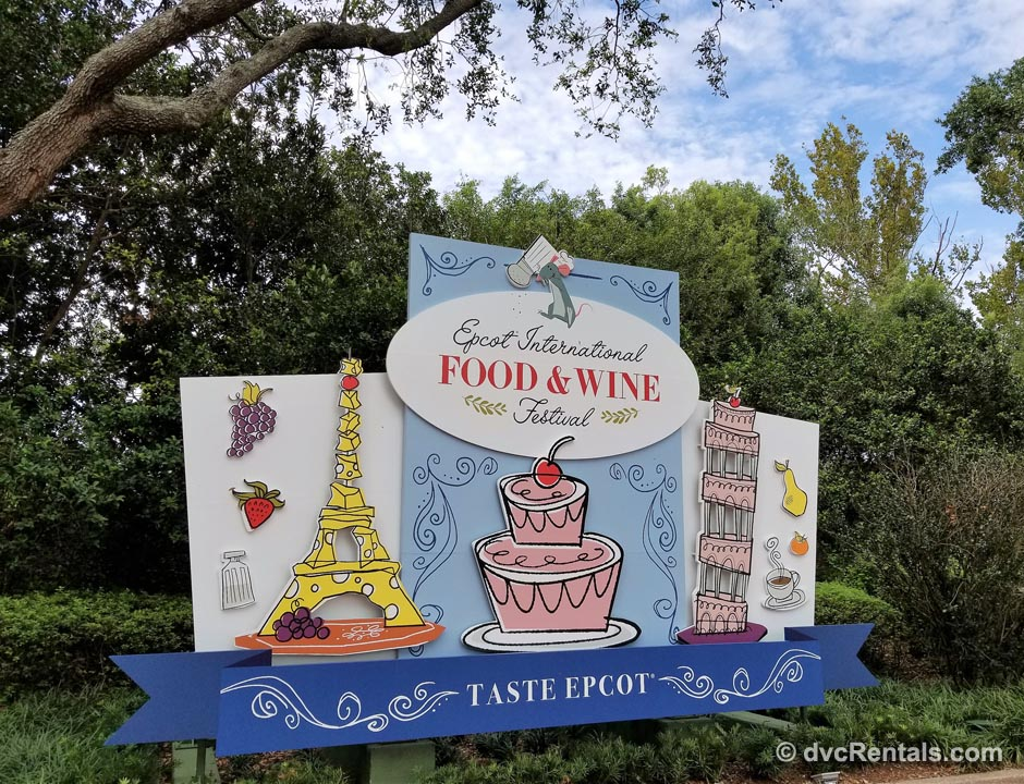 Disney Epcot International Food & Wine Festival
