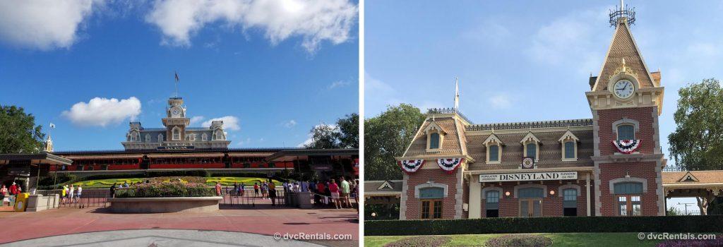Disneyland and Park